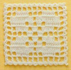 Crochet Blocks, Crochet Squares, Crochet Granny, Crochet Motif, Crochet Stitches, Crotchet Patterns, Crochet Cardigan Pattern, Crochet Cord, Diy Crochet