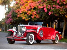 1930 Duesenberg Model J convertible.  But I'd only drive it on the weekends in the summer.  I promise.
