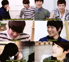 """ when the other infinite members decides to make their visual go for a fake date on their reality show """