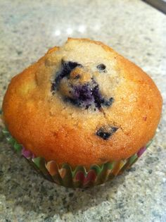 Apple and Blueberry Muffins