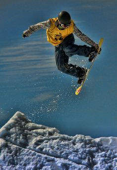 I must go snowboarding someday.