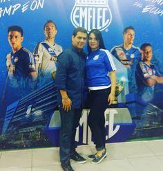 Segundo día  #FeriaAzul #Emelec  Centro de Convenciones  #Adidas #Marketing #FutbolEcuador
