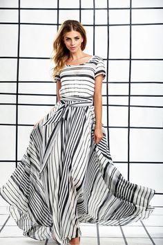Zebra Maxi Dress by Shabby Apple