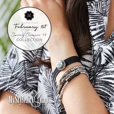 Magnolia and Vine New Spring-Summer 2017 Collection available at MyStyleInASnap.com - BUY 4 SNAPS, GET 1 FREE! - Come discover the secret of interchangeable jewelry snaps - your budget and wardrobe will love it!
