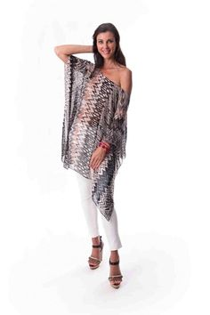 Show off your shoulders with laloom kaftans