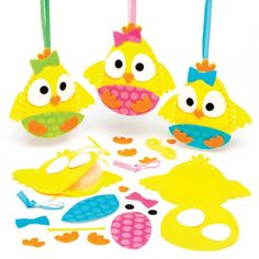 Easter Chick Decoration Sewing Kits