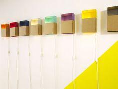 boîte à lumière — lampe en carton design ¿adónde?