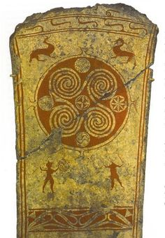 Fylfot on Picture Stone, 8th Century CE. Gotland, Sweden