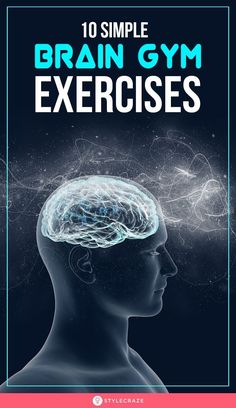 Brain gym exercises are activities that improve memory, learning ability, and attention in kids and adults. Read on to know how to boost brain function. Healthy Brain, Brain Health, Women's Health, Brain Nutrition, Healthy Life, Brain Gym Exercises, Health And Wellness, Health Fitness, Brain Facts
