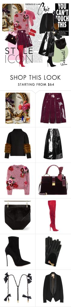 """Style Icon"" by vilen ❤ liked on Polyvore featuring Atelier Cologne, Valentino, Saks Potts, Isa Arfen, Le Ciel Bleu, Dolce&Gabbana, Miu Miu, M2Malletier, Casadei and Paul Smith"