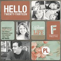 Project Life - Title Page - Two Peas in a Bucket
