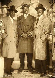 College men, 1940s