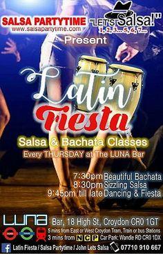 SALSA BACHATA KIZOMBA LONDON  Our dance journey continues,  📌Terrific Tuesdays 31st Oct.  ★Bachata@7.45pm★Salsa@8.30pm★Party 'til 11.30pm
