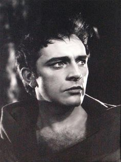 (handsome) Richard Burton as Hamlet taken on stage at the Old Vic, 1951 by Angus McBean