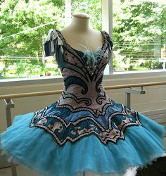 Blue tutu! www.theworlddances.com/ #costumes #tutu #dance