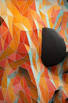 dome puncturing faceted skin