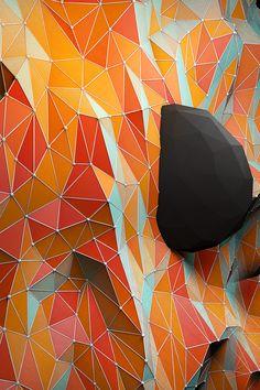 Exploring Geometry by Jeremiah Shaw & Danny Jones Le Manoosh, Collage, Sculpture, Geometric Shapes, Geometric Patterns, Textures Patterns, Amazing Art, Geometry, Illustration Art