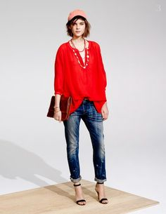 27 Outfits From Madewell's Spring/Summer 2014 Lookbook - The Frisky
