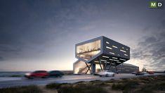 Dva objekty navržené jako jednotlivé hmoty posazené proti sobě #MasterDesign Peru, Opera House, Building, Travel, Design, Turkey, Viajes, Buildings, Opera