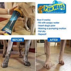 The Paw Wash Mitt