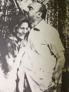 Matilde Urrutia and Pablo Neruda