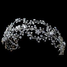 Rhinestone Handmade Wired Headband