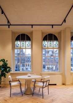 Fosbury & Sons Coworking Offices - Amsterdam | Office Snapshots Amsterdam, Old Hospital, Belgian Style, Huge Windows, Rooms For Rent, Co Working, Home Comforts, Parquet Flooring, Coworking Space