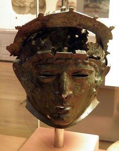 Cavalry Face-Mask Helmet, from Ribchester, late 1st or early 2nd century AD…