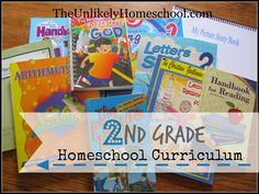 2nd Grade Homeschool Curriculum 2014-2015 {The Unlikely Homeschool}