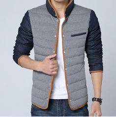 Men's Street style jacket for Fall and Winter.