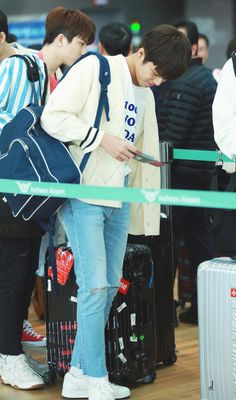 Jeongwoo at Incheon Airport Golden Treasure, Hyun Suk, Airport Photos, Fandom, Treasure Boxes, Incheon, May 7th, Yg Entertainment, Going Crazy