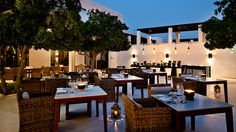 Starry Skies: Arabian Courtyard at the Chedi Muscat