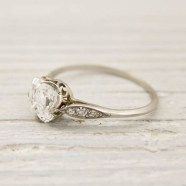 100 Simple Vintage Engagement Rings Inspiration (61)