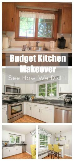 Kitchen cabinet refacing the process kitchens diy party and house my secret for transforming an old dated kitchen into a beautiful new kitchen without spending insane amounts of money solutioingenieria Images
