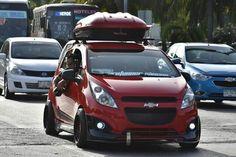 Chevrolet Spark, Honda Jazz, Honda Fit, Spark Gt, High Performance Cars, Vw Bus, Cool Cars, Chevy, Sailing