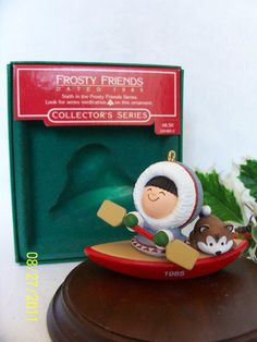 HALLMARK Ornament 1985 Frosty Friends #6 in Series