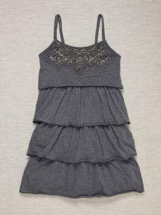 Beaded Dress by Sally Miller #gilt