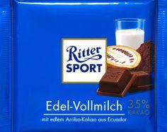 Ritter Sport Edel-Vollmilch-Schokolade