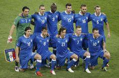 England vs Italy 2-4 // Euro 2012 // quarter-final soccer match // Olympic Stadium in Kiev