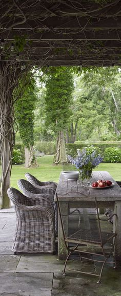 Farmhouse Outdoor Area | 50 Beautiful Outdoor Spaces | Image Gallery