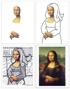 Here's another line art project, this time based on the very famous painting of Mona Lisa. This photoshopped face of … Read More