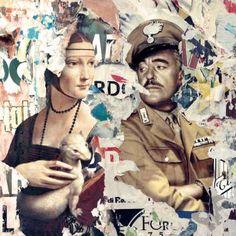 IUl Fascino della Divisa Canvas Paper, Arte Pop, Digital Collage, Printmaking, Buy Art, Saatchi Art, Original Art, Cinema, Baseball Cards
