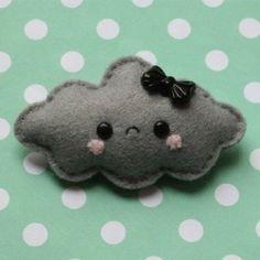 cloud felt-creatures