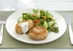 Free salmon fish cakes recipe. Try this free, quick and easy salmon fish cakes recipe from countdown.co.nz.