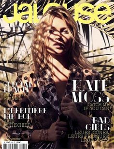 Kate Moss covers the November 2012 issue of Jalouse. Photographed by Sonia Sieff.