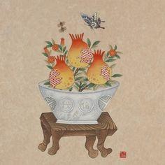 Tibetan Art, Kitchen Art, Chinese Art, Asian Art, Decorative Bowls, Folk, Butterfly, Birds, Japanese