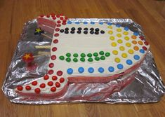Rocket Ship Cake...Found the next birthday cake challenge! Boys are going to love this one!
