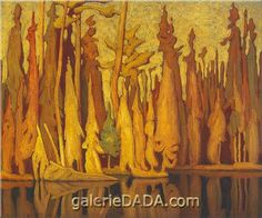 Northern Autumn - Harris, Lawren (Canadian, 1885 - Fine Art Reproductions, Oil Painting Reproductions - Art for Sale at Galerie Dada