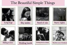 Beautiful Simple Things