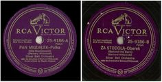 Silver Bell Orchestra / Pan Migdalek-Polka (1948) / RCA Victor 25-9186 (Single) #EasternEuropeRussiaPolish